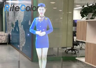 Transparent Adhesive Holographic Rear Projection Film for Glass and Acrylic