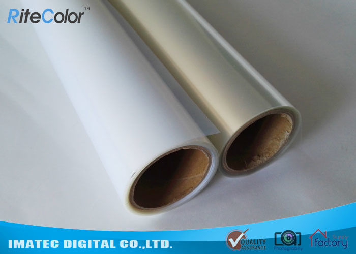 Milky Instantly Dry Printing Film / Inkjet Screen Printing Film With HIgh Ink Load Capacity